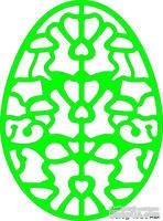 Лезвие Lace Egg Three от Cheery Lynn Designs