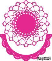 Лезвие от Cheery Lynn Designs - Felicity Doily w/ Angel Wing - DL239