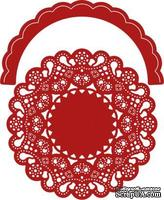 Лезвие Priscilla Doily w/Angel Wing - DL260 от Cheery Lynn Designs - ScrapUA.com