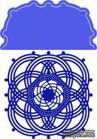 Лезвие Infinity Doily w/Angel Wing от Cheery Lynn Designs