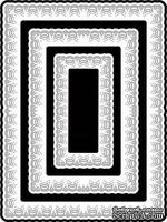 Нож для вырубки от Cheery Lynn Designs - Horizon Rectangle Boutique Stacker Frames