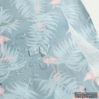 Ламинированный хлопок от Dailylike - Charming: flamingo