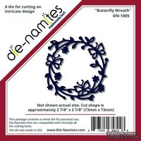 Лезвие Die-Namites - Butterfly Wreath