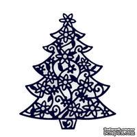Лезвие Die-Namites - Floral Christmas Tree