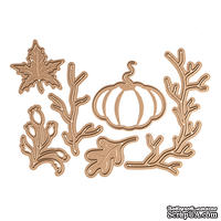 Ножи от Spellbinders - Fall/Thanksgiving Die Set - Small Die of the Month Club