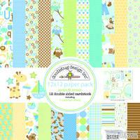 Набор кардстока от Doodlebug Cardstock - snips & snails, двусторонний, 30,5 x 30,5 см