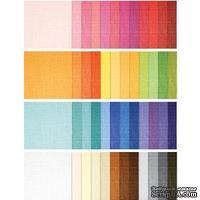 Набор текстурированного кардстока от - Doodlebug Cardstock - Textured Assorted Rainbow, 48 листов