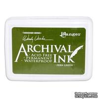 Архивные чернила Ranger - Wendy Vecchi - Archival Ink Pads - Fern Green