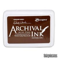 Архивные чернила Ranger - Wendy Vecchi - Archival Ink Pads - Potting Soil