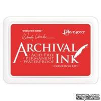 Архивные чернила Ranger - Archival Ink Pads - Carnation Red