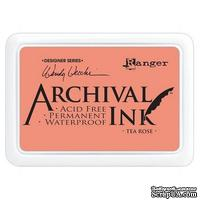 Архивные чернила Ranger - Wendy Vecchi - Archival Ink Pads - Tea Rose
