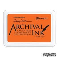 Архивные чернила Ranger - Wendy Vecchi - Archival Ink Pads - Tiger Lily