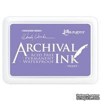 Архивные чернила Ranger - Wendy Vecchi - Archival Ink Pads - Violet