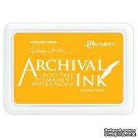 Архивные чернила Ranger - Wendy Vecchi - Archival Ink Pads - Sunflower