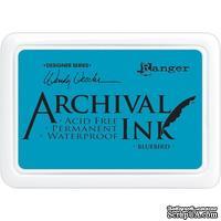 Архивные чернила Ranger - Wendy Vecchi - Archival Ink Pads - Bluebird