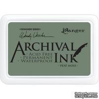 Архивные чернила Ranger - Wendy Vecchi - Archival Ink Pads - Peat Moss