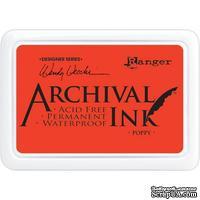 Архивные чернила Ranger - Wendy Vecchi - Archival Ink Pads - Poppy - ScrapUA.com