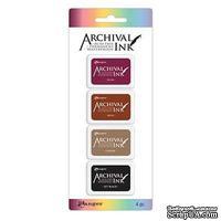 Набор архивных чернил Ranger - Archival Mini Ink Pads - Kit 2