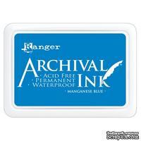 Архивные чернила Ranger - Archival Ink Pads - Manganese Blue