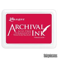 Архивные чернила Ranger - Archival Ink Pads - Vermillion