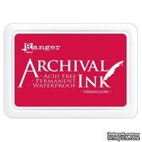 Архивные чернила Ranger - Archival Ink Pads - Vermillion