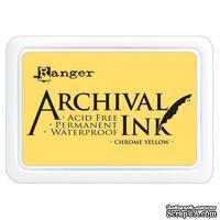 Архивные чернила Ranger - Archival Ink Pads - Chrome Yellow