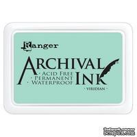 Архивные чернила Ranger - Archival Ink Pads - Viridian