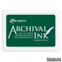 Архивные чернила Ranger - Archival Ink Pads - Library Green