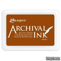 Архивные чернила Ranger - Archival Ink Pads - Sepia