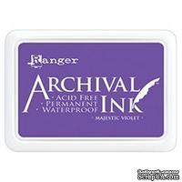 Архивные чернила Ranger - Archival Ink Pad - Majestic Violet