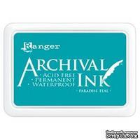 Архивные чернила Ranger - Archival Ink Pad - Paradise Teal