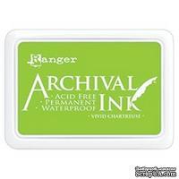 Архивные чернила Ranger - Archival Ink Pad - Vivid Chartreuse