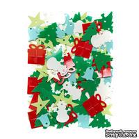 Пайетки Christmas, 20 г, TM dpCraft (Dalprint)