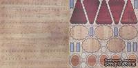 Лист скрапбумаги GCD Studios - Antiquities Collection - двусторонняя, 30х30 см