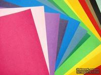 Картон American Crafts - Cardstock Variety Packs - Primaries, основные цвета, 30 х 30 см.