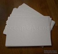 Пивной картон, молочно-серый, 1,4 мм, 1 шт. (цена зависит от размера)