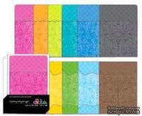 Набор конвертов и кармашков Hampton Art  - Ditto 5x7 Bracket Envelopes and Pockets, 6 цветов