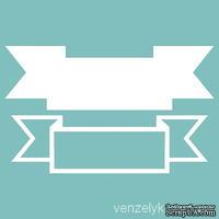Чипборд от Вензелик - Двухслойная лента 01, размер: размер основы 33x109 мм