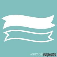 Чипборд от Вензелик - Двухслойная лента 02, размер: размер основы 26*101 мм