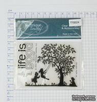 КОМИССИОНКА - Набор акриловых штампов Technique Tuesday - Life is Good, 3 штуки, размер упаковки 7,5х10 см