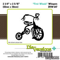 Лезвие Die-Version Dies - Whispers - Tricycle - ScrapUA.com