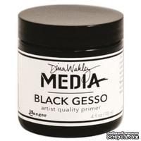 Гессо Ranger - Dina Wakley Media - Black, цвет черный