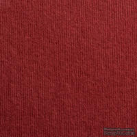 Дизайнерский картон с фактурой микро вельвета Dali bordeaux, размер: 30х30 см, цвет: красный вишневый, плотность: 285 г/м2