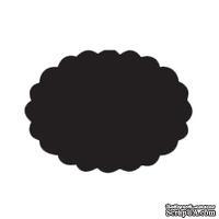 Фигурный дырокол Dovecraft - Scalloped Oval 7,5см