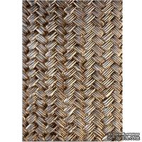 Папка для тиснения 3D от Spellbinders - Basket Weave