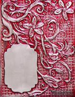 Папка для тиснения от Spellbinders - Floral Labels Four