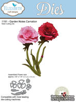 Ножи от Elizabeth Craft Designs - Garden Notes - Carnation