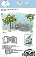 Ножи от Elizabeth Craft Designs - Iron Fence Pop-Up