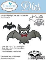 Ножи от Elizabeth Craft Designs - Midnight the Bat