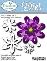 Нож  от   Elizabeth  Craft  Designs  -  Flower  Set,  5  элементов.